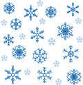 Snowflakes vector image for decoration Royalty Free Stock Image
