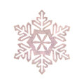 Snowflakes white snowflake holiday decoration close studio shot Stock Image