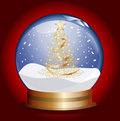 Snowglobe Stock Photo