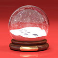Snowglobe Royalty Free Stock Photography