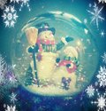Snowglobe Fotos de archivo libres de regalías