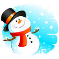 Snowman Royalty Free Stock Image