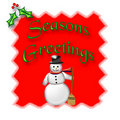 Snowman Christmas Stock Images