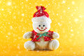 Snowman for christmas and new year holidays Royalty Free Stock Images