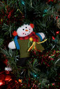 Snowman Ornament Royalty Free Stock Photography