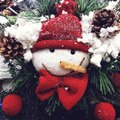Snowman such a beautiful Stock Images