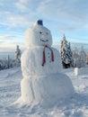 image photo : Snowman