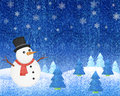 Snowman Winter Stock Images