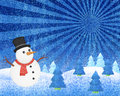 Snowman Winter Royalty Free Stock Photos