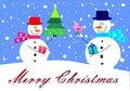 Snowmen Royalty Free Stock Images