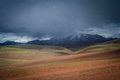 Snowstorm in Tibet Royalty Free Stock Photo