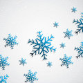 Snowy background abstract seasonal vector Royalty Free Stock Photo
