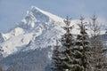Zasnežená hora