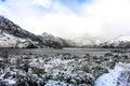 Snowy Mountains Royalty Free Stock Photo