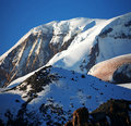 Snowy mt Elbrus Royalty Free Stock Images
