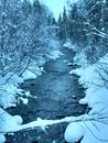 Snowy river Royalty Free Stock Photo