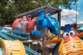 Snuffy elephants attractions at Busch Gardens 49 Royalty Free Stock Photo
