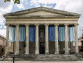 Snug Harbor 19th Century Greek Revival Structure Royalty Free Stock Photo