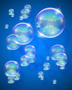 Soap bubble abstract background Royalty Free Stock Photography