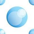 Soap bubble icon.