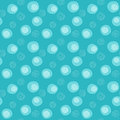 Soap bubbles seamless background Royalty Free Stock Photo
