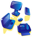 Soap computer icons Royalty Free Stock Photo