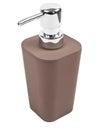 Soap dispenser isolated on white background Stock Image