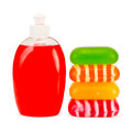 Soap Liquid Red And Stack Soli...
