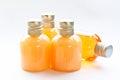 Soap and shampoo bottle Royalty Free Stock Photo