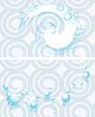 Soapy bubbles on the abstract seamless background Royalty Free Stock Photo