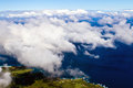 Soaring over Maui Stock Images