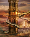 Soaring Towers Royalty Free Stock Photo