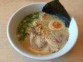 Soba ramen noodles japanese food Stock Image