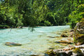 Soca river Royalty Free Stock Photo