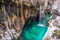 Soca River falls Royalty Free Stock Photo