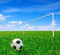 Soccer ball Stock Photography
