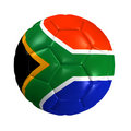 Soccer ball africa Stock Images
