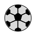 Soccer ball cartoon