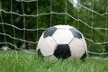 Image : Soccer ball dark  a