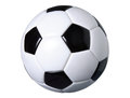 Soccer ball isolated on white with clipping path