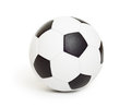 Soccer ball object on white a Stock Photos
