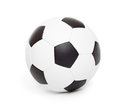 Soccer ball object on white isolated Stock Photography