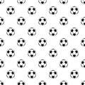 Soccer ball pattern vector