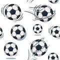 Soccer ball texture football set pattern realistic graphic illustration background Stock Images