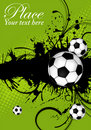 Soccer Ball theme Royalty Free Stock Photos