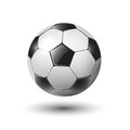 Soccer ball on white eps illustration Stock Photo