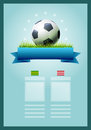 Soccer banner vector scoreboard design elements are layered separately in vector file easy editable Stock Photo
