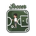 Soccer cartoon theme