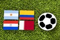 Soccer Cup of South America - Group B. Text Space