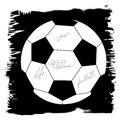 Soccer design element Royalty Free Stock Photography